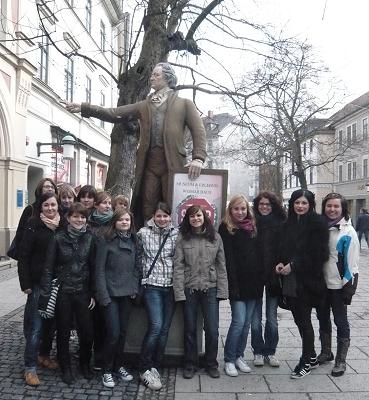 Kollegstufe des Jahrgangs 2009/11 in Weimar