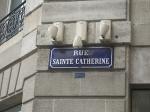 Rue Sainte-Catherine gilt als Europas längste Fussgängerzonen-Einkaufsstraße