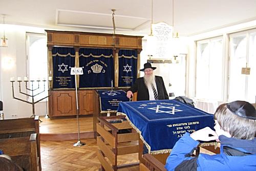 Begegnung mit Rabbi Josef Chaim Bloch