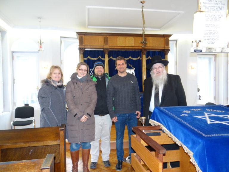 Synagogenbesuch Regensburg