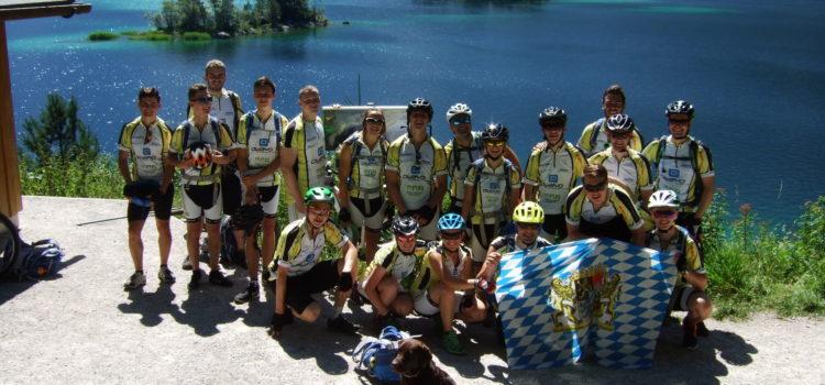 Das P-Seminar Alpencross
