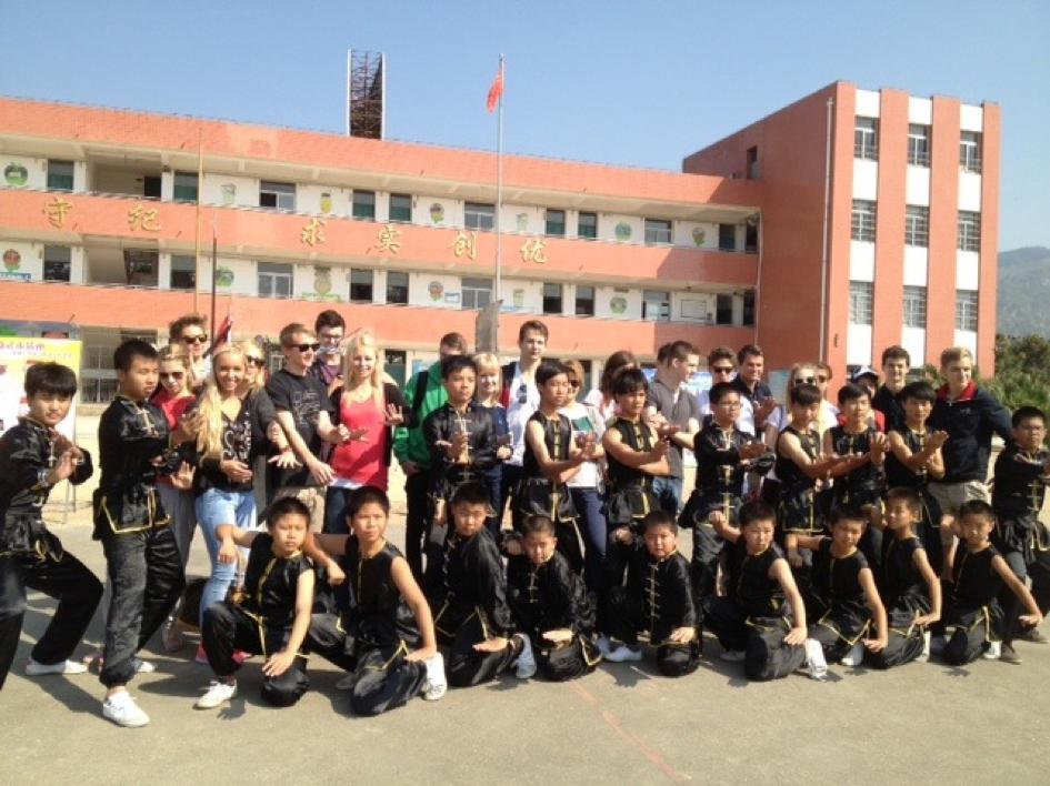 Bild: Besuch eines Kampfsportinternats in China