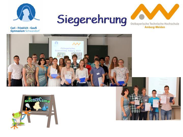 Ostbayerisches ScienceCamp Amberg 2017
