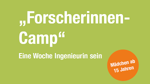 Forscherinnen-Camp 2019